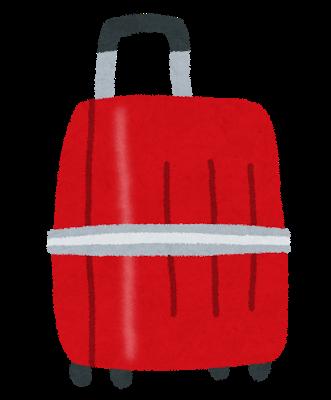 旅行用のスーツケース