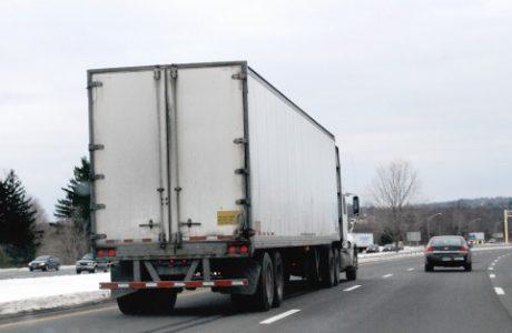 物流会社のトラック